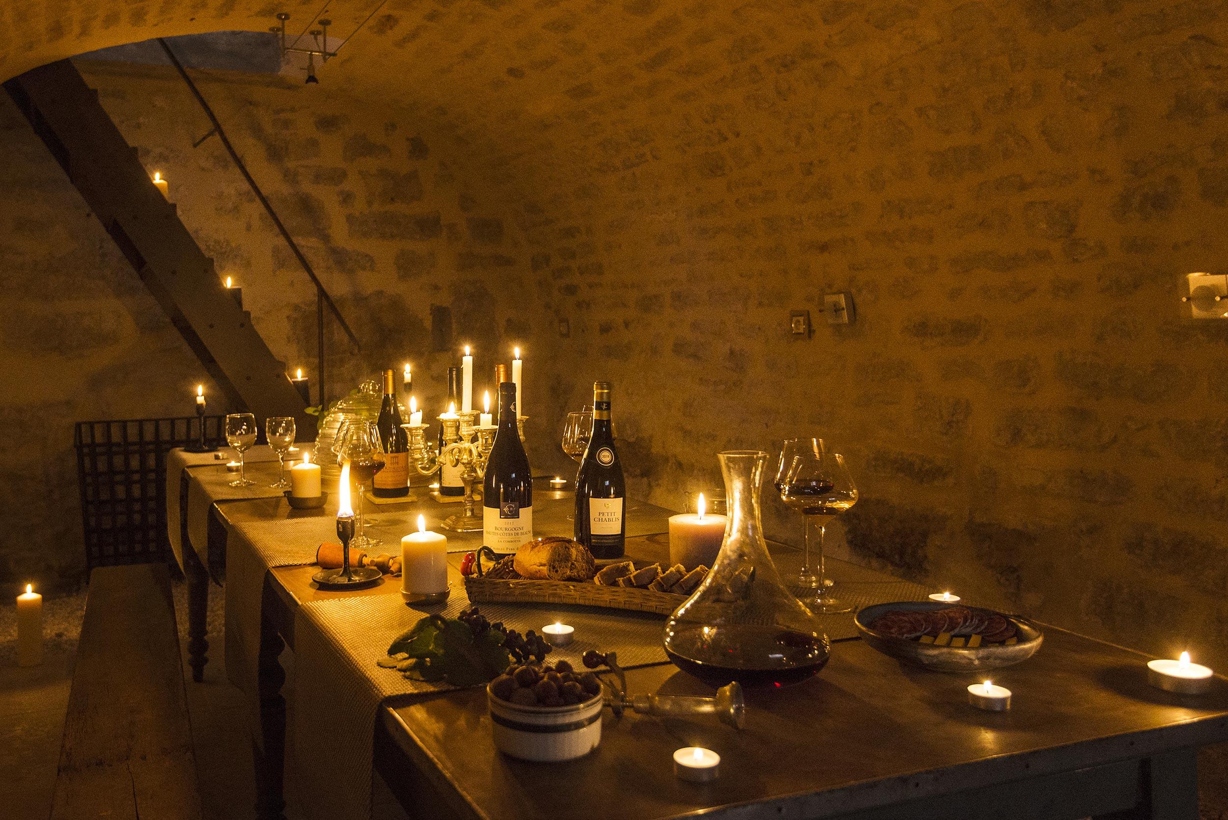 Domaine des Carriers - Table d'hôtes cave