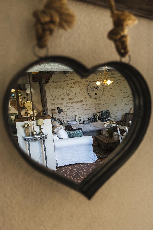 Domain des Carriers - photos miroir reflet
